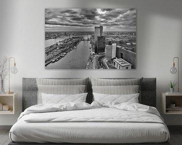 Rotterdam vanaf 42ste verdieping