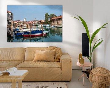 Historische Gebäude in der Altstadt von Venedig in Italien. von Rico Ködder