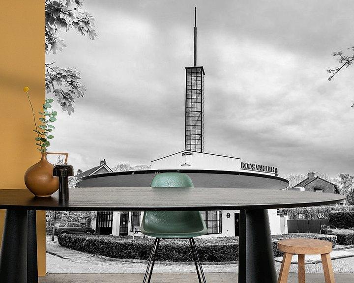 Sfeerimpressie behang: Autopalace Nijmegen van Vincent de Moor