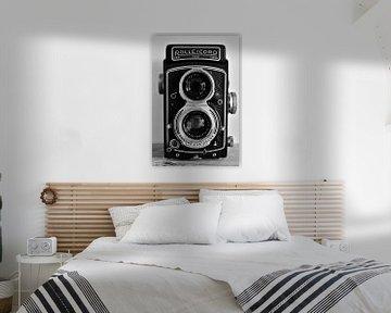 Alte alte Rolleicord-Filmkamera von Christa Stroo fotografie