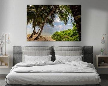 Strand anse royale auf der Seychelleninsel Mahé von Reiner Conrad