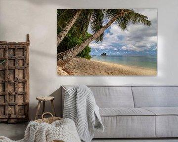 Strand anse royale op het Seychellen eiland Mahé van Reiner Conrad