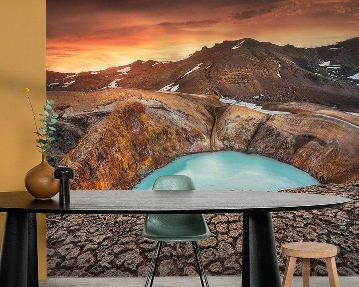 Beispiel fototapete: Viti Crater, Iceland von FineArt Prints | Zwerger-Schoner |