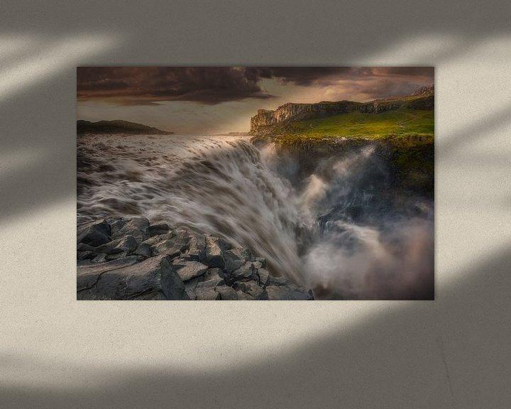 Beispiel: Wild Waters, Iceland von FineArt Prints | Zwerger-Schoner |