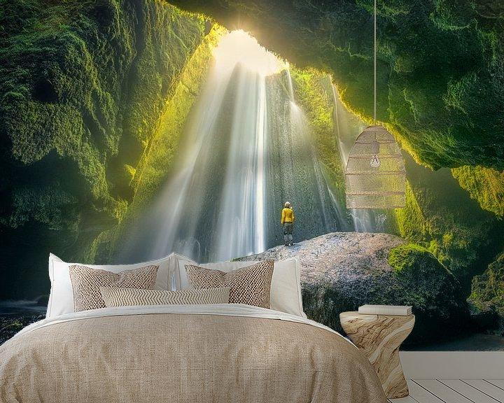 Beispiel fototapete: CaveFalls Iceland von FineArt Prints   Zwerger-Schoner  