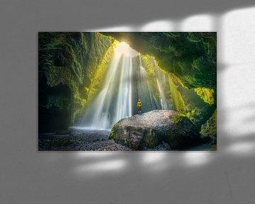 CaveFalls Iceland von FineArt Prints | Zwerger-Schoner |
