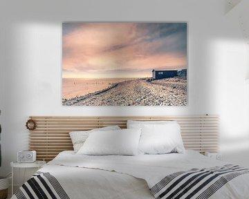 Verlaten strandhuis in Fornæs van Bart Sallé