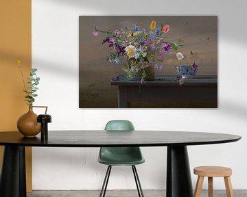 Stillleben 'Blumen vom Feld von Willy Sengers