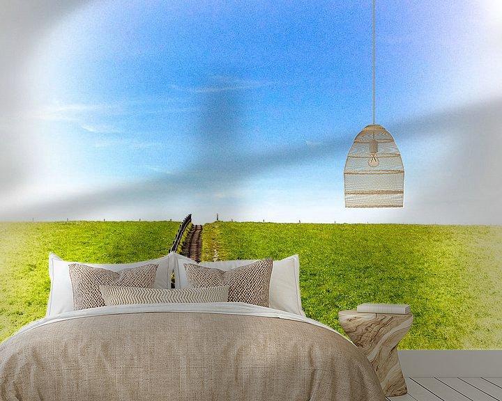 Sfeerimpressie behang: Dijk van Erik Reijnders