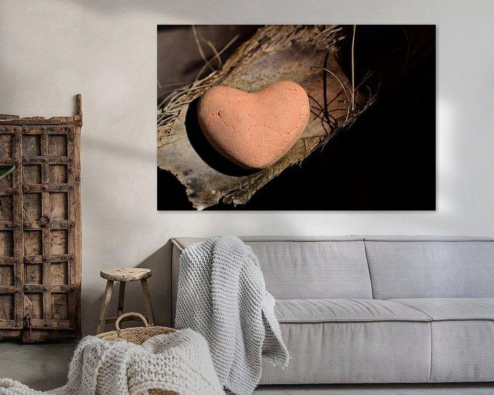 Impression: un cœur d'argile sur Ulrike Leone