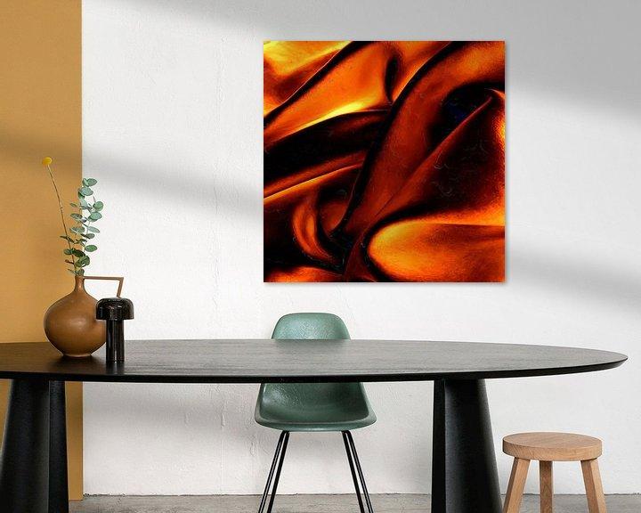 Beispiel: Abstrakte Wellenlinien von Maurice Dawson