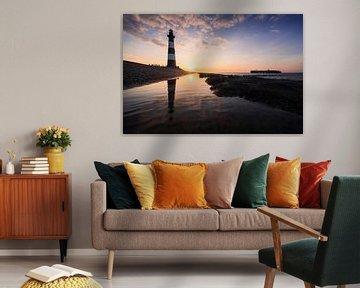 Leuchtturm Breskens 2 von Thom Brouwer
