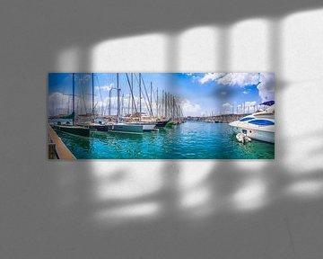 Mallorca Hafen mit Boote von Mustafa Kurnaz