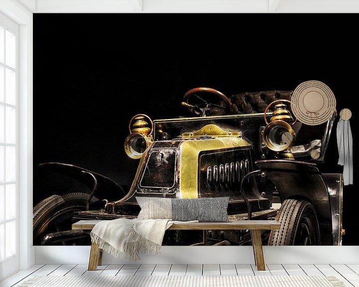 Sfeerimpressie behang: De historische auto van Lucas van Gemert