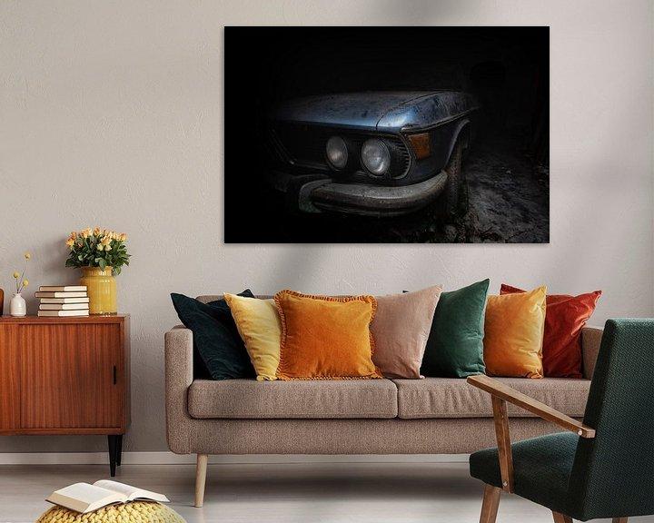 Sfeerimpressie: Oude BMW van Maikel Brands