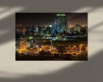Maputo Central business district van Evert Jan Luchies