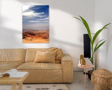 Wadi Rum, Jordanie van Gerard Burgstede