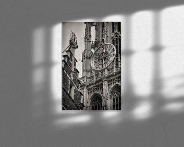 Uhr Kathedrale von Antwerpen von Rob Boon