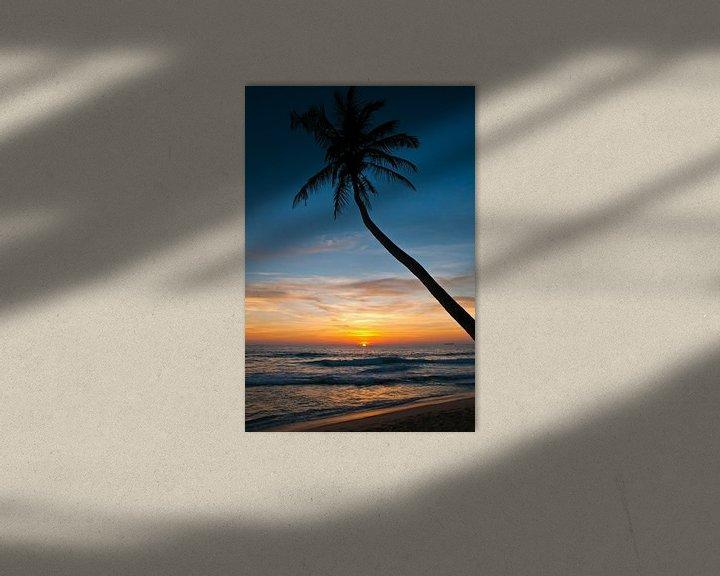Sfeerimpressie: Zonsondergang op het droomstrand van Andreas Kilian