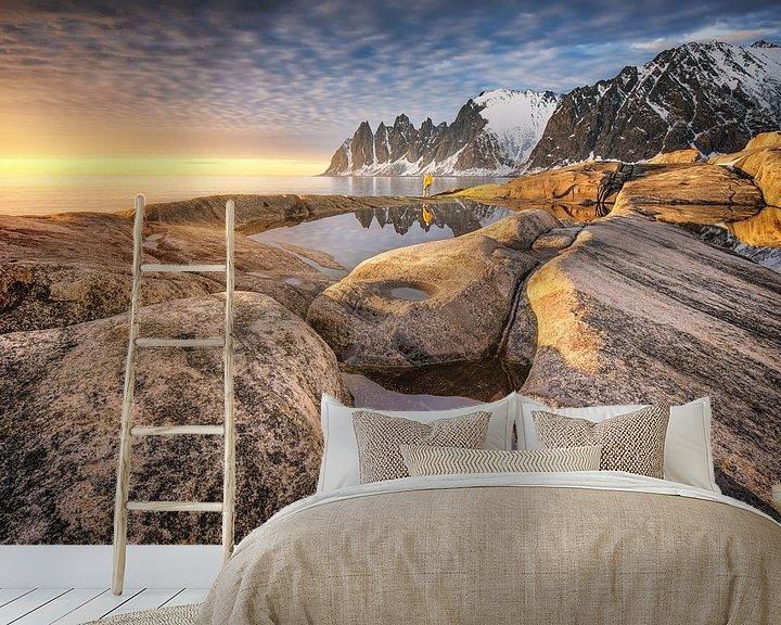 Beispiel fototapete: Felsküste Tungeneset Senja von FineArt Prints | Zwerger-Schoner |
