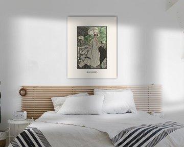 Aux Course | Historische Art Deco Mode prent | Retro en Vintage design met moderne look van NOONY