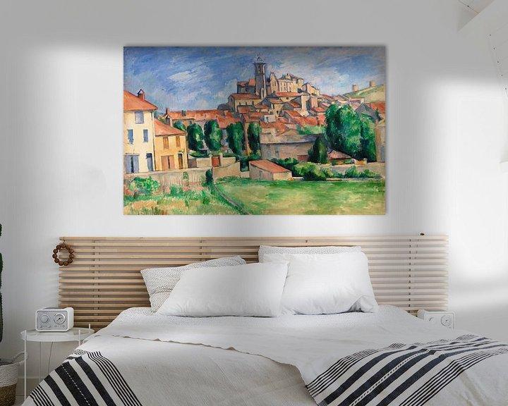Beispiel: Cézanne, Gardanne (ca. 1885) von Atelier Liesjes