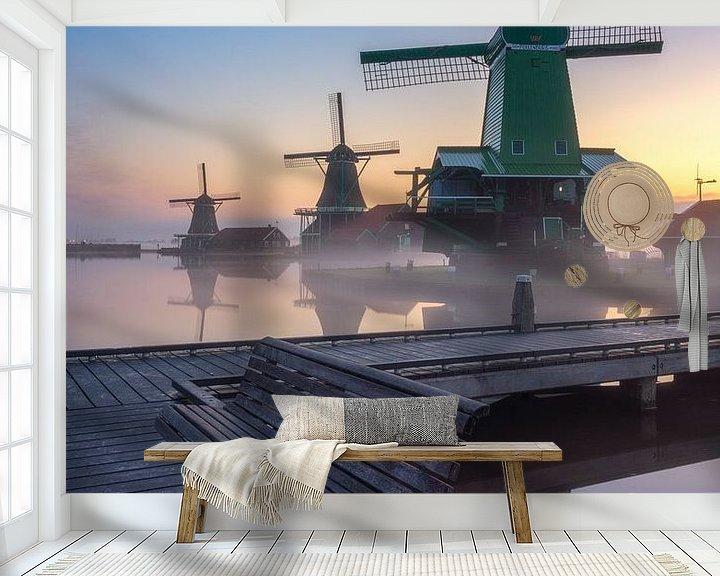 Impression: Zaanse Schans sur Photo Wall Decoration