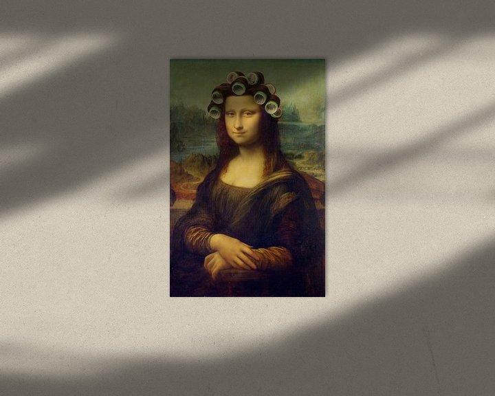 Sfeerimpressie: Mona Lisa - The Curly Girly Edition van Marja van den Hurk
