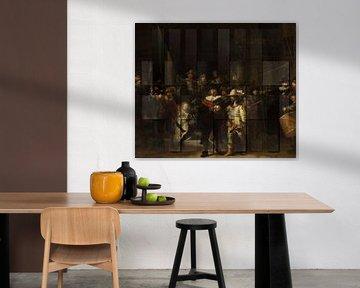 Die Nachtwache von Rembrandt van Rijn von Rudy & Gisela Schlechter