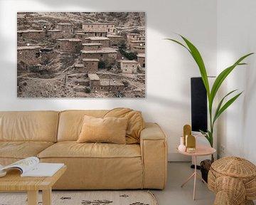 Kleines Dorf in Marokko von Sophia Eerden