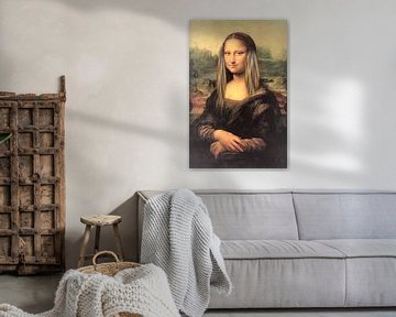 Mona Lisa. Straight hair day van Rudy & Gisela Schlechter