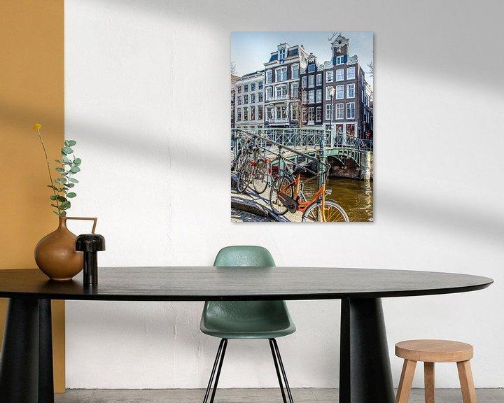 Sfeerimpressie: Sint Jansbrug, Amsterdam van Wijbe Visser