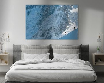 Alpinisten in het hooggebergte van John Faber