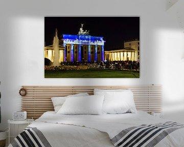 Berlin: Brandenburger Tor in besonderer Beleuchtung