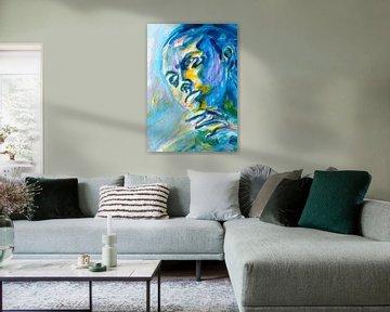 Ein flüchtiger Blick auf die Sonne von ART Eva Maria