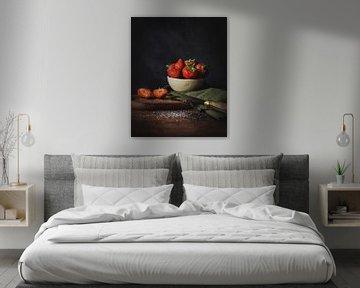 Aardbeien van Daisy de Fretes
