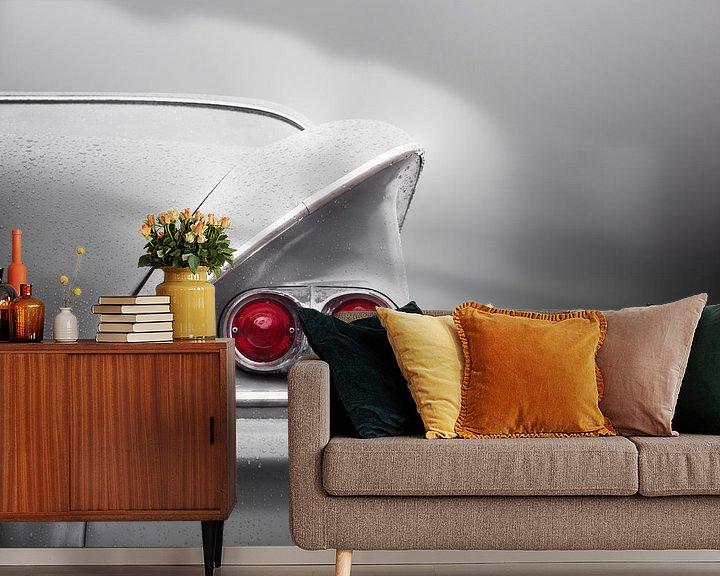 Sfeerimpressie behang: Amerikaanse oldtimer 1958 Bel Air van Beate Gube