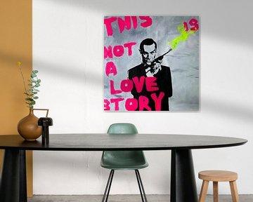 Motif James Bond - Ce n'est pas une histoire d'amour - Dadaïsme sur Felix von Altersheim