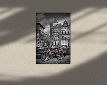 AMSTERDAM Bloemgracht | colorkey von Melanie Viola