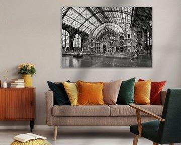 Flurbahnhof Antwerpen von Rob Boon