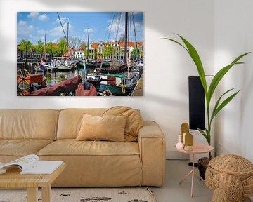 Der Hafen von Blokzijl von Fred van Bergeijk