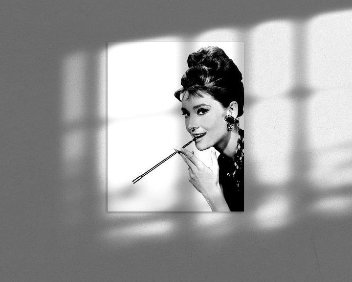 Sfeerimpressie: Audrey Hepburn van Brian Morgan