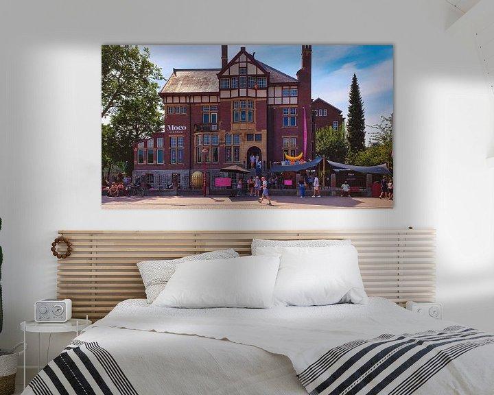 Sfeerimpressie: Moco museum Amsterdam van Digital Art Nederland