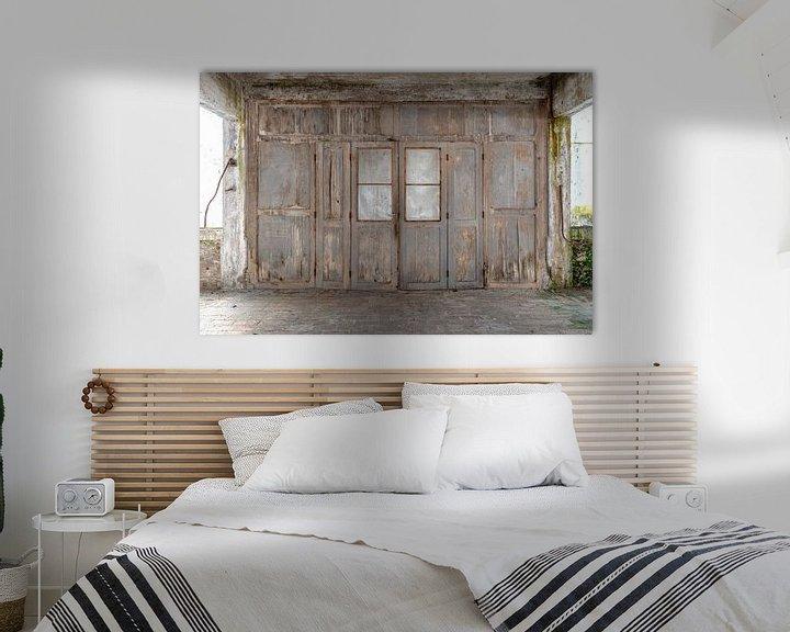 Beispiel: Holztür in Verfall von Kristof Ven