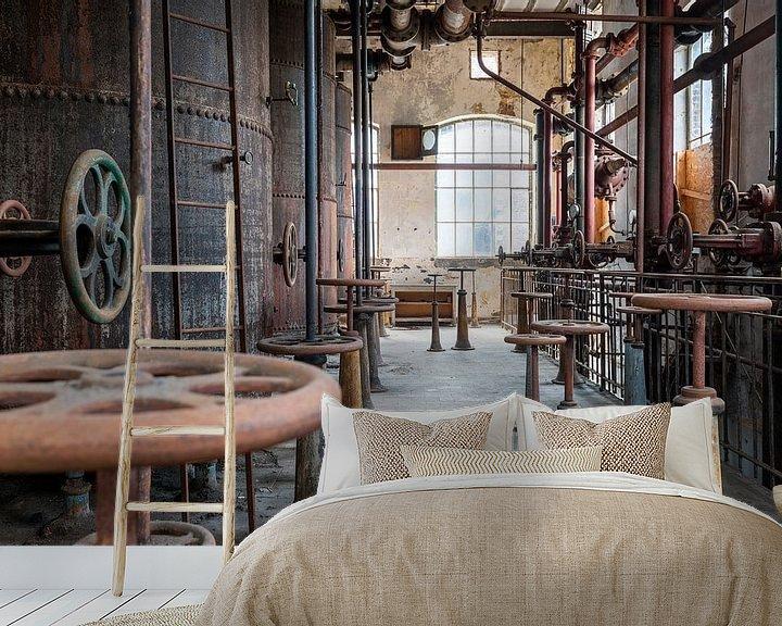 Beispiel fototapete: verlassene Industrie von Kristof Ven