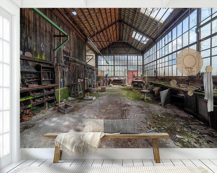 Beispiel fototapete: Industriehalle im Niedergang von Kristof Ven