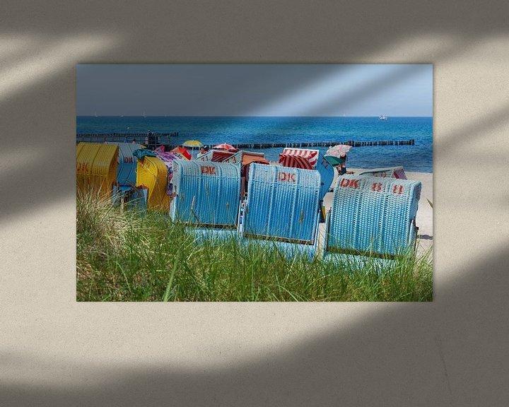 Beispiel: Strandkörbe,  Kühlungsborn, Mecklenburg-Vorpommern, Deutschland, Europa von Torsten Krüger