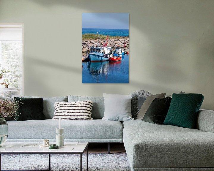 Beispiel: Alte Fischkutter im Hafen, Kühlungsborn, Mecklenburg-Vorpommern, Deutschland, Europa von Torsten Krüger