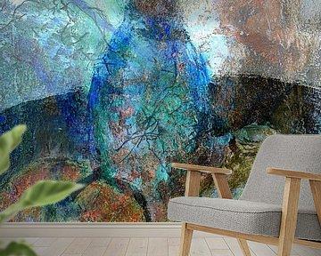Stilleven met appel van Anita Snik-Broeken
