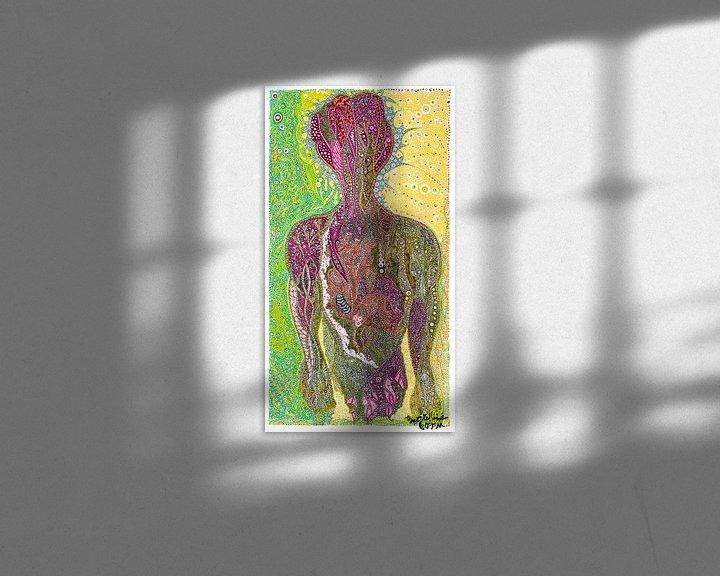 Sfeerimpressie: Man In The Mirror van Mohamed Hamida